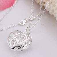 silver necklace pendant,silver heart pendant ,high quality